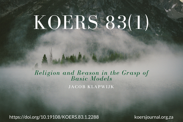 Religion and Reason in the Grasp of Basic Models - Jacob Klapwijk